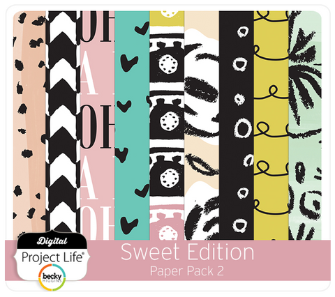 Sweet Edition Paper Pack 2