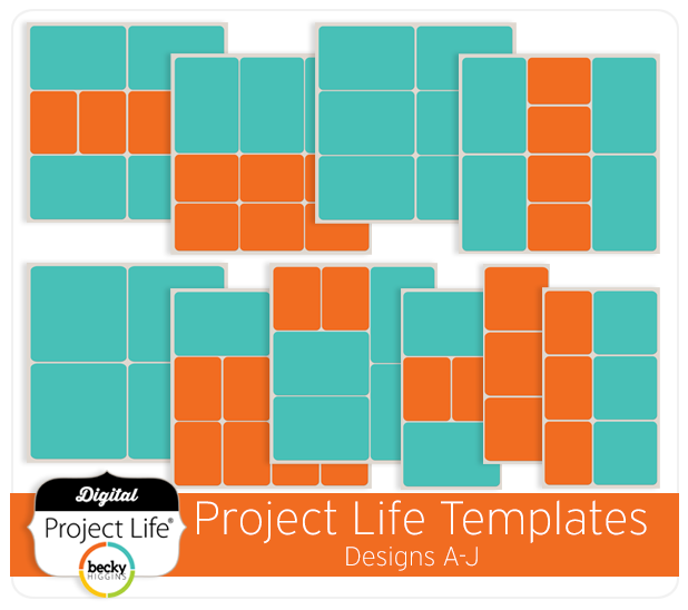 project life templates designs a j