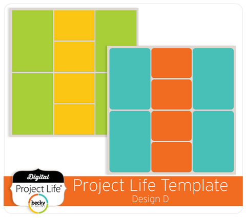 Project Life Template Design D