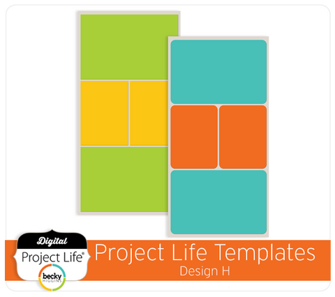 Project Life Template Design H