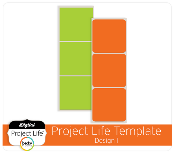 Project Life Template Design I