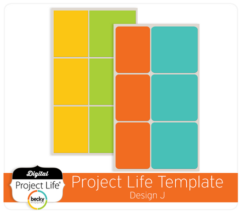 Project Life Template Design J