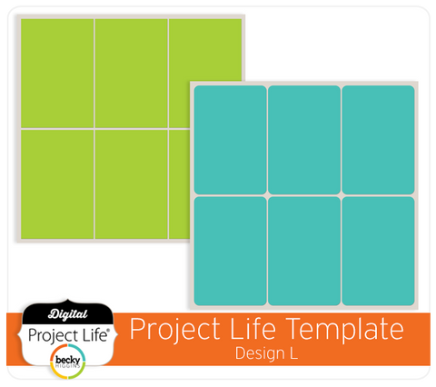 Project Life Template Design L