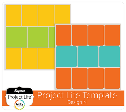Project Life Template Design N