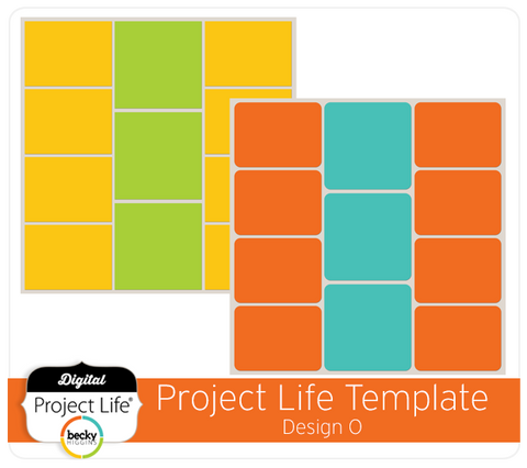 Project Life Template Design O