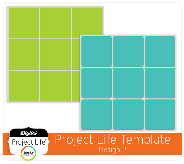 Project Life Template Design P