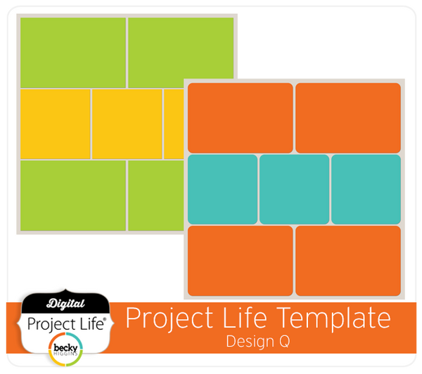 Project Life Template Design Q