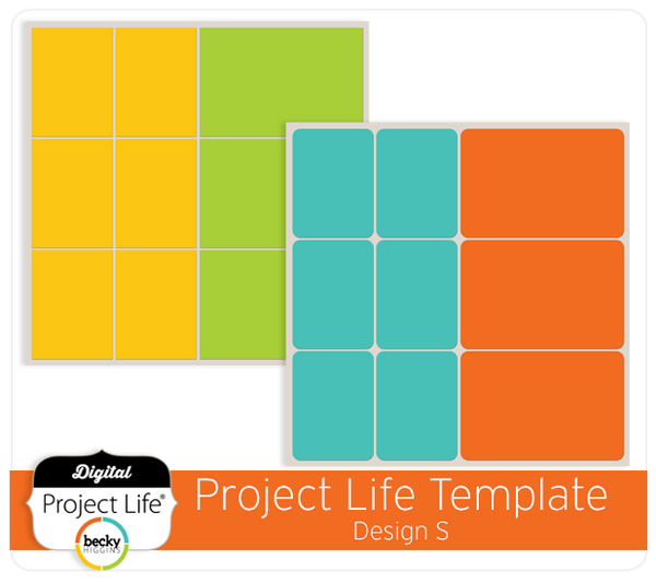 Project Life Template Design S