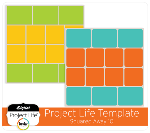 Project Life Template Squared Away 10