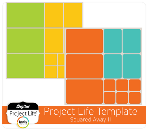 Project Life Template Squared Away 11