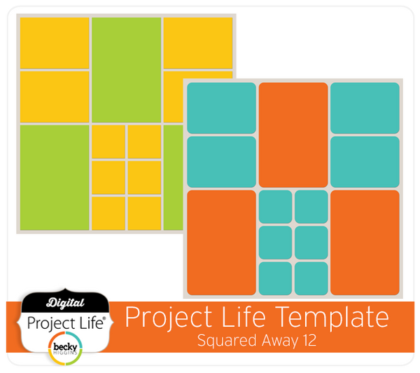 Project Life Template Squared Away 12