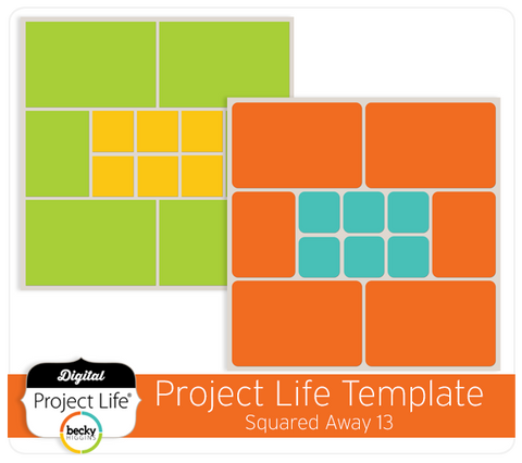 Project Life Template Squared Away 13