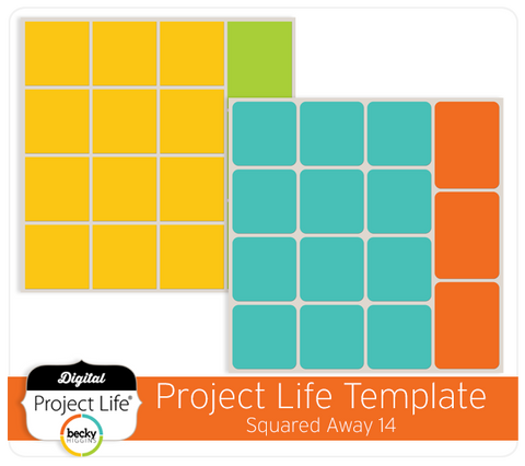 Project Life Template Squared Away 14