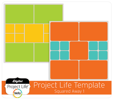 Project Life Template Squared Away 1
