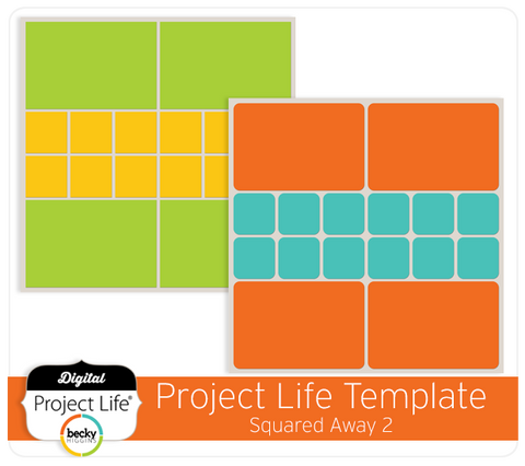 Project Life Template Squared Away 2