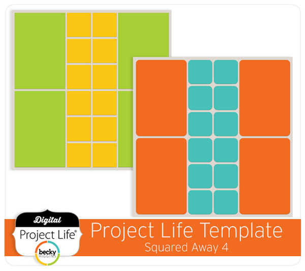 Project Life Template Squared Away 4