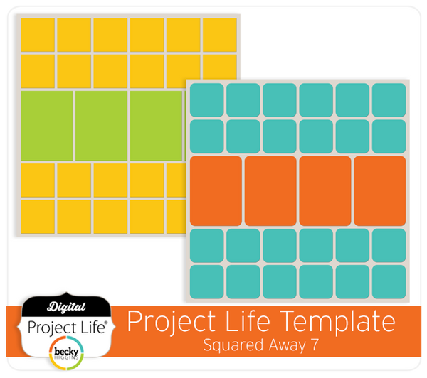 Project Life Template Squared Away 7