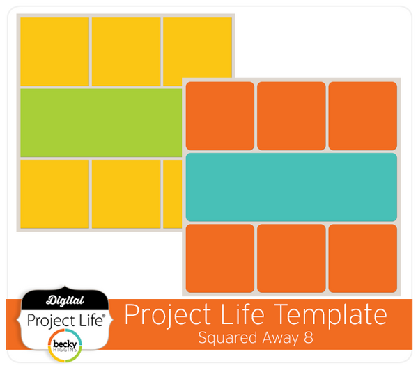 Project Life Template Squared Away 8