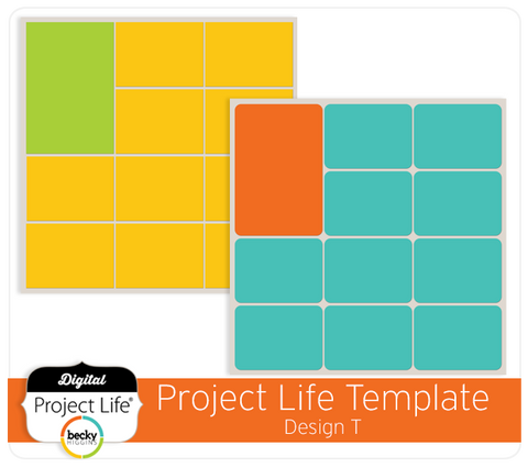 Project Life Template Design T