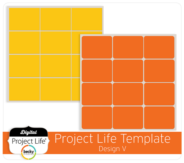 Project Life Template Design V