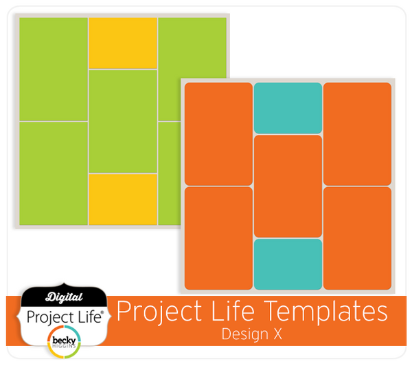 Project Life Template Design X