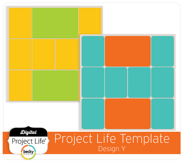 Project Life Template Design Y