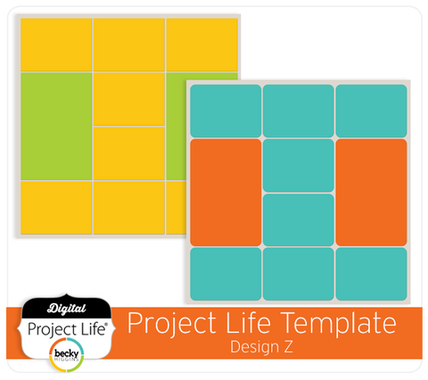 Project Life Template Design Z