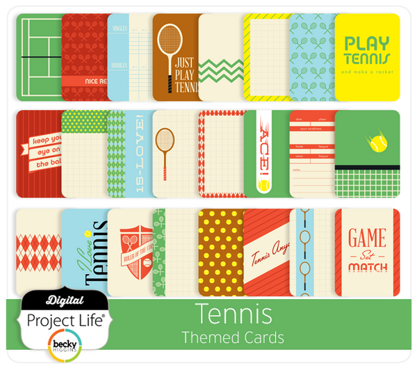 Tennis Themed Cards