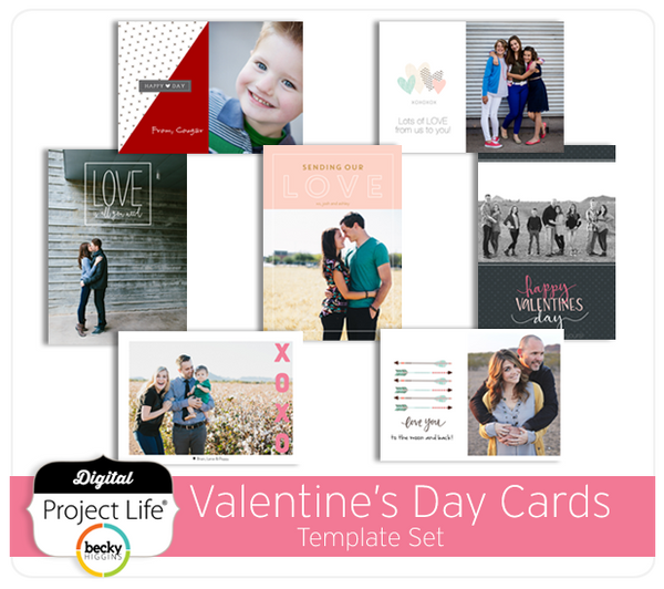 Valentine's Day Card Set