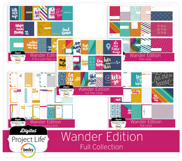 Wander Edition Full Collection
