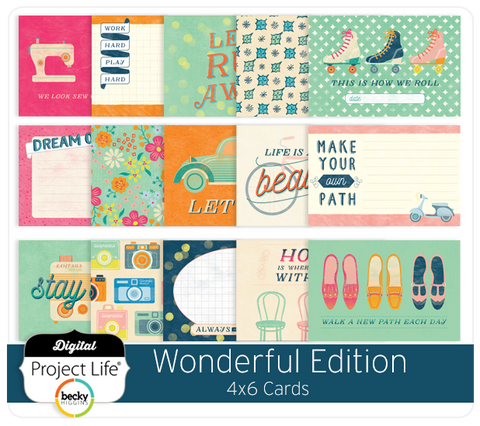 Wonderful Edition 4x6 Cards