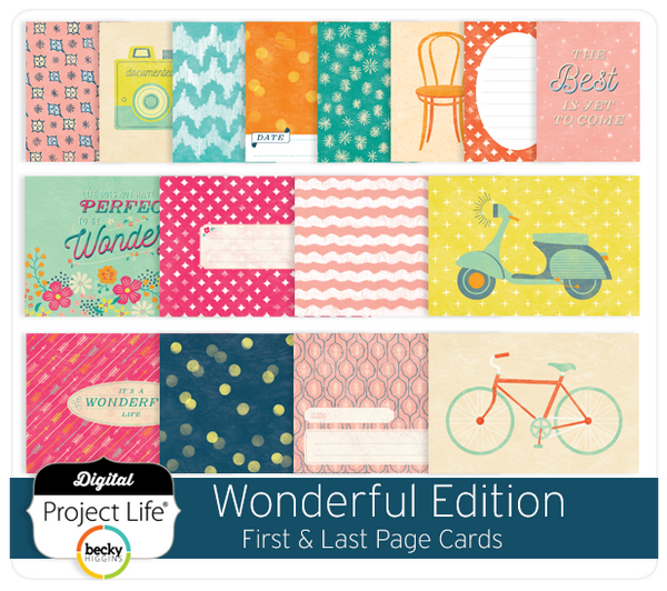 Wonderful Edition First & Last Page Cards