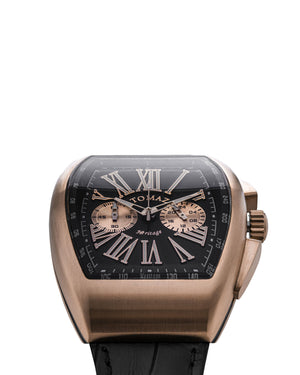 Load image into Gallery viewer, Tomaz TQ012-D3 Men's Watch (Rose Gold/Black) best men watch, automatic watch for men, Trending men watch, Luxury watch, Watches of Switzerland, automatic watch for men, jam tangan lelaki, jam tangan automatik, jam kronograf