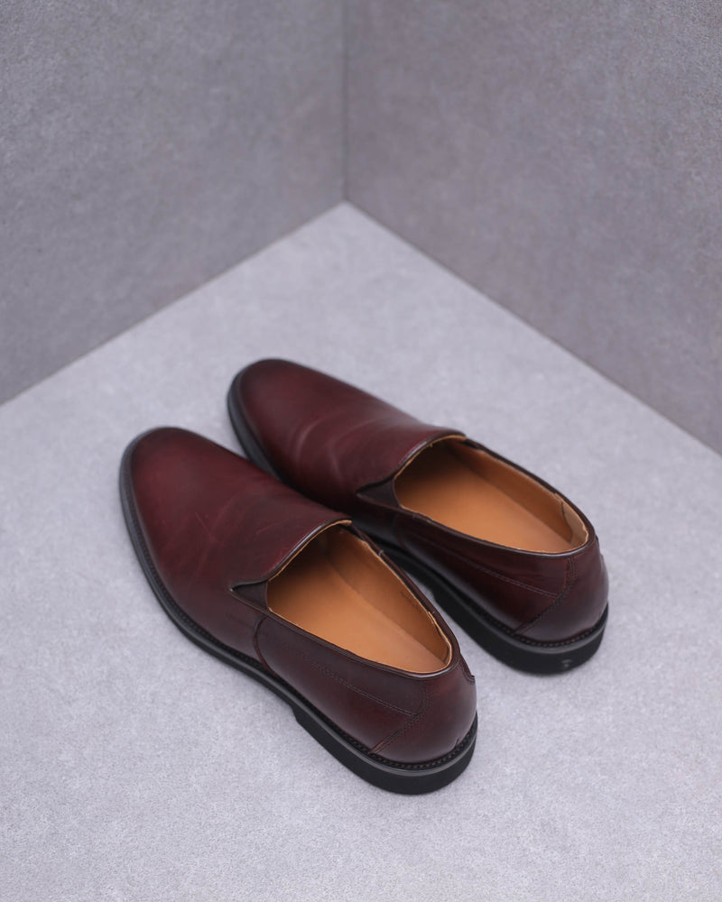 Load image into Gallery viewer, Tomaz F193 Formal Shoes (Wine)