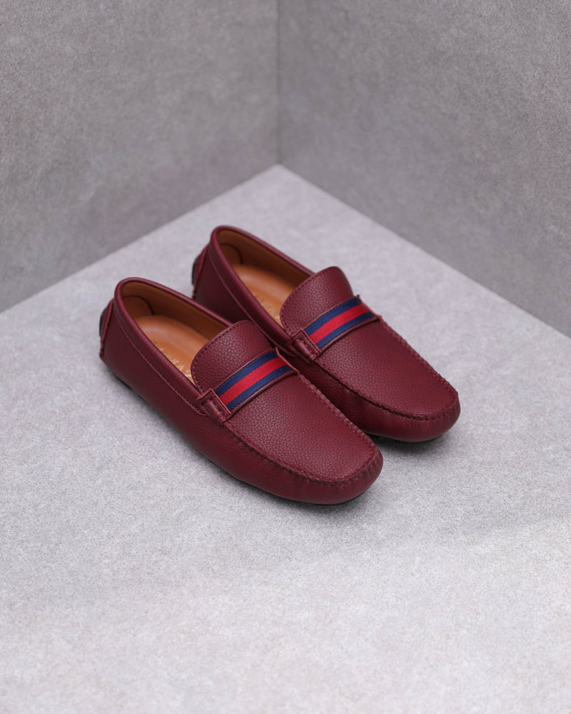 Load image into Gallery viewer, Tomaz C445 Penny Moccasins (Wine)