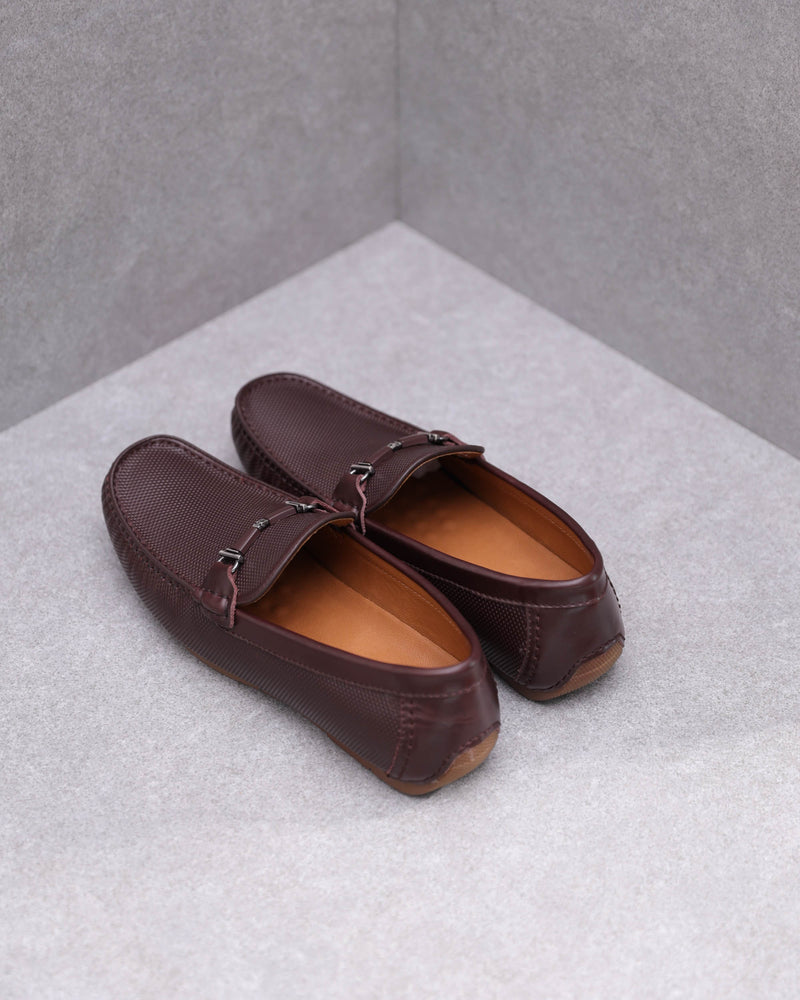 Load image into Gallery viewer, Tomaz C361 Front Buckled Loafers (Coffee)