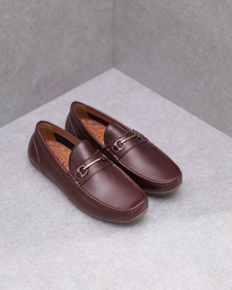Tomaz C380 Buckle Moccasins (Coffee)