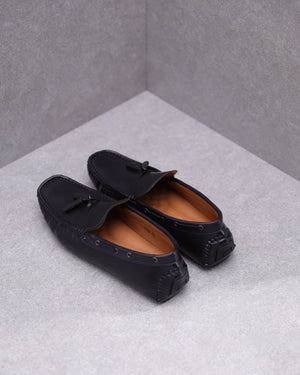 Load image into Gallery viewer, Tomaz C422 Tassel Moccasins (Navy)