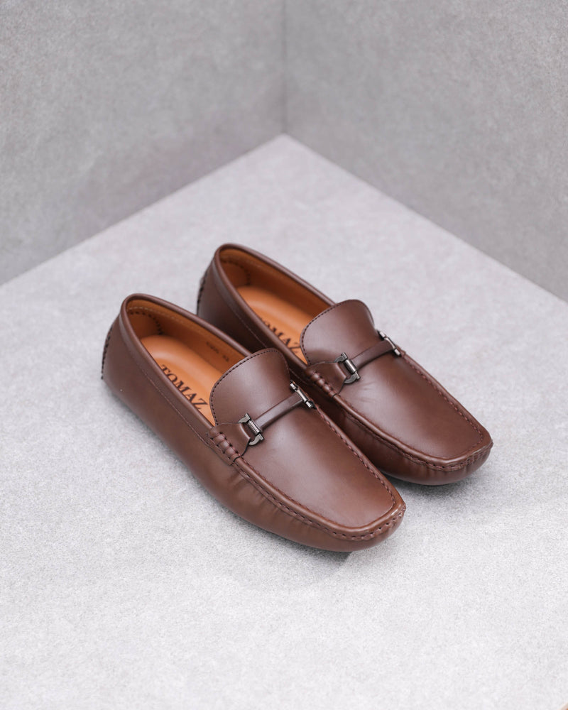 Tomaz C368 Buckled Loafers (Coffee)