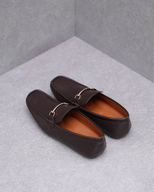 Load image into Gallery viewer, Tomaz C454 Horsebit Buckle Moccasins (Coffee)