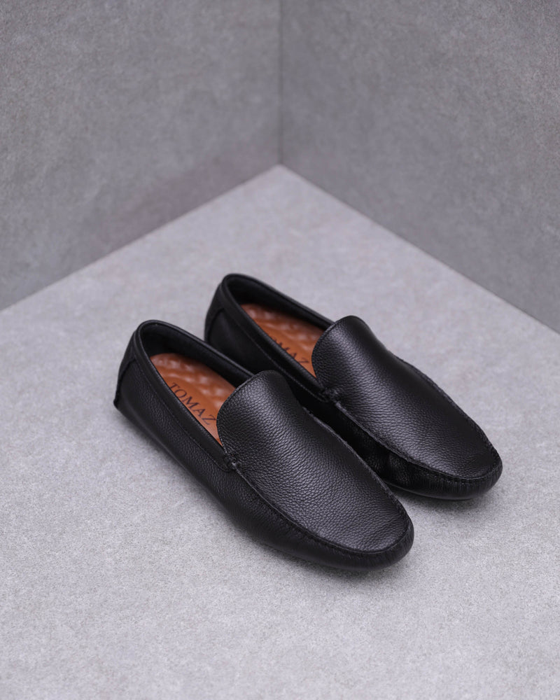 Tomaz C398 Shoe Casual Moccasins (Black)