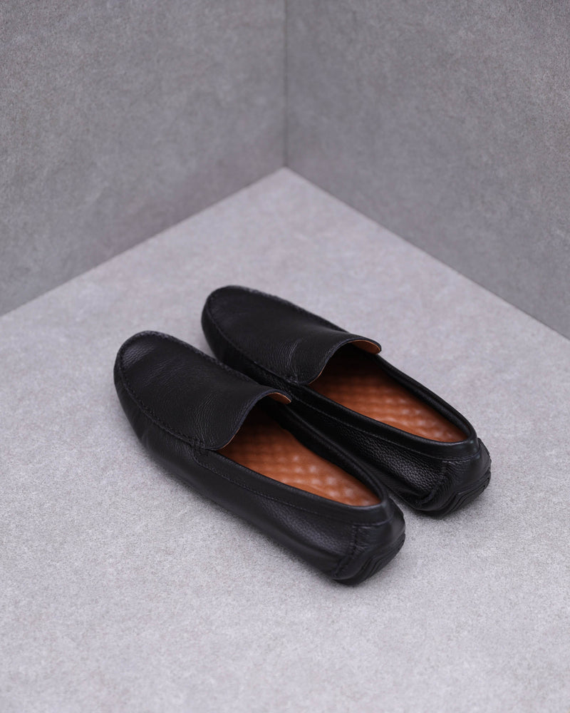 Load image into Gallery viewer, Tomaz C398 Shoe Casual Moccasins (Black)