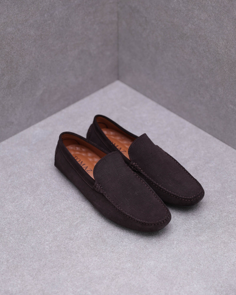 Load image into Gallery viewer, Tomaz C451 Square Moc-Toe Moccasins (Coffee)