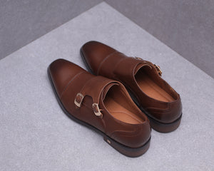 Load image into Gallery viewer, Tomaz F217 Monkstrap Formals (Brown)