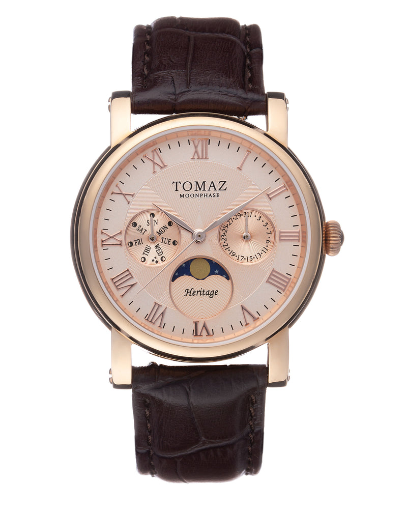 Tomaz Ladies Watch TQ007 (Rose Gold/Rose Gold)