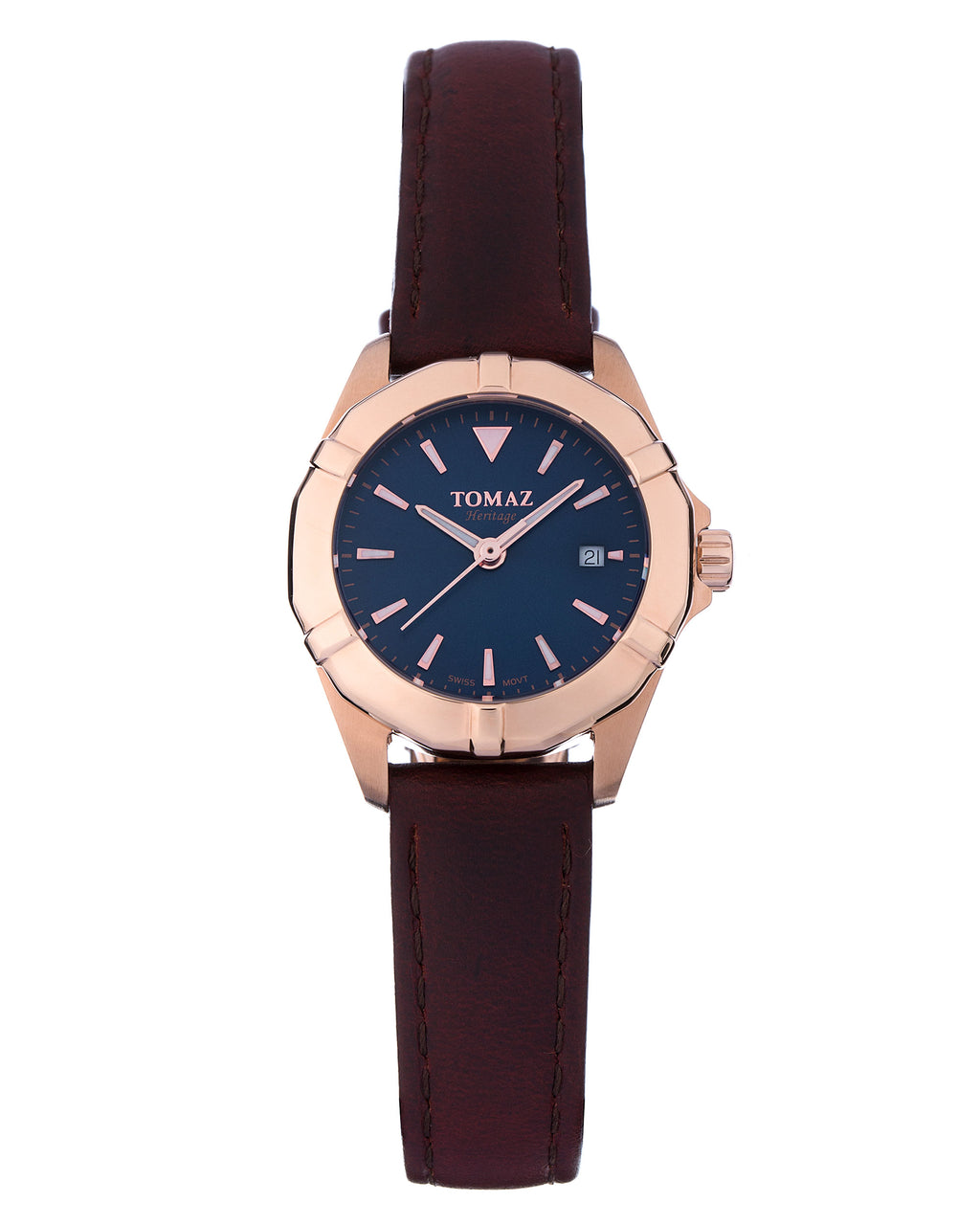 Tomaz Ladies Watch TQ009 (Rose Gold/Navy)