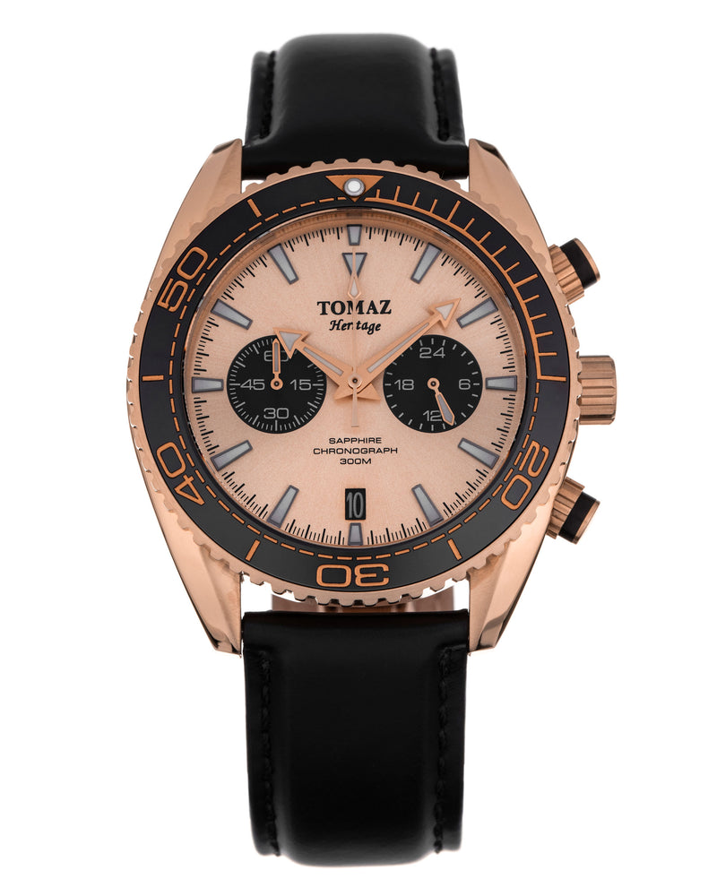 Tomaz Men's Watch TW012 - Rose Gold