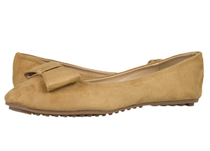 Tomaz LYF25 Suede Leather (Camel) - Tomaz Shoes