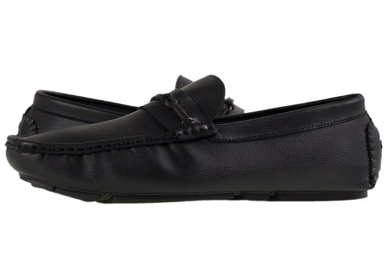 Load image into Gallery viewer, Tomaz C311 Braided Strap Loafers (Black) - Tomaz Shoes (10718538824)