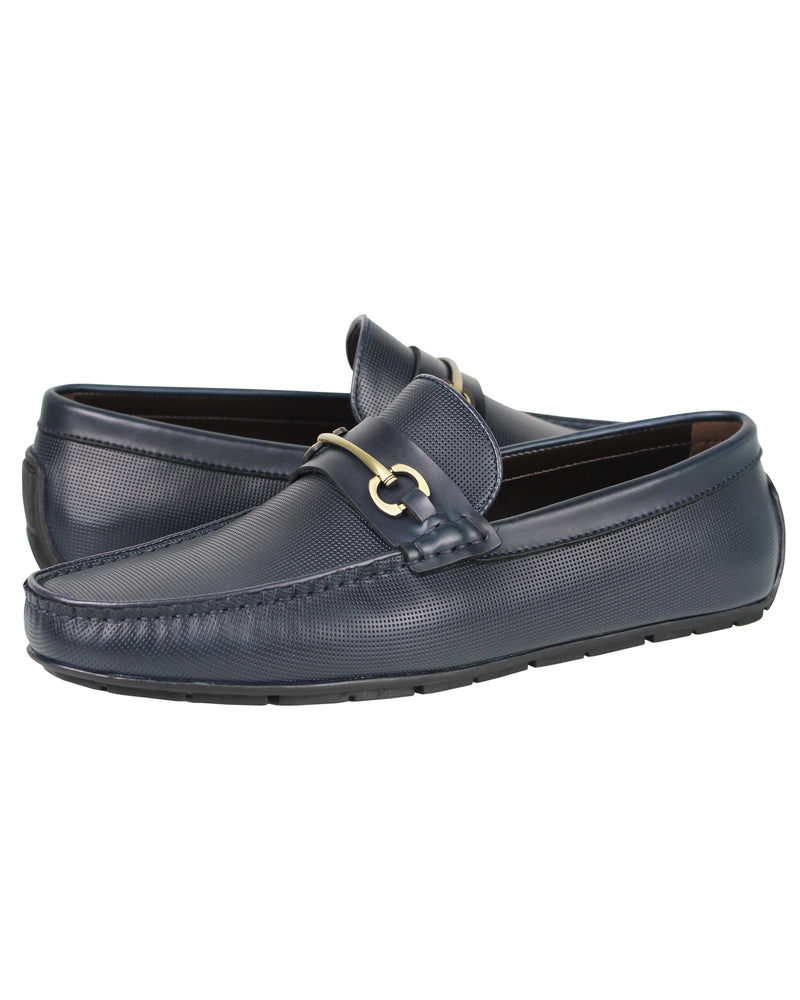Load image into Gallery viewer, Tomaz C376 Buckle Moccasins (Navy) men's shoes casual, men's dress shoes, discount men's shoes, shoe stores, mens shoes casual, men's casual loafers men's loafers sale, men's dress loafers, shoe store near me.